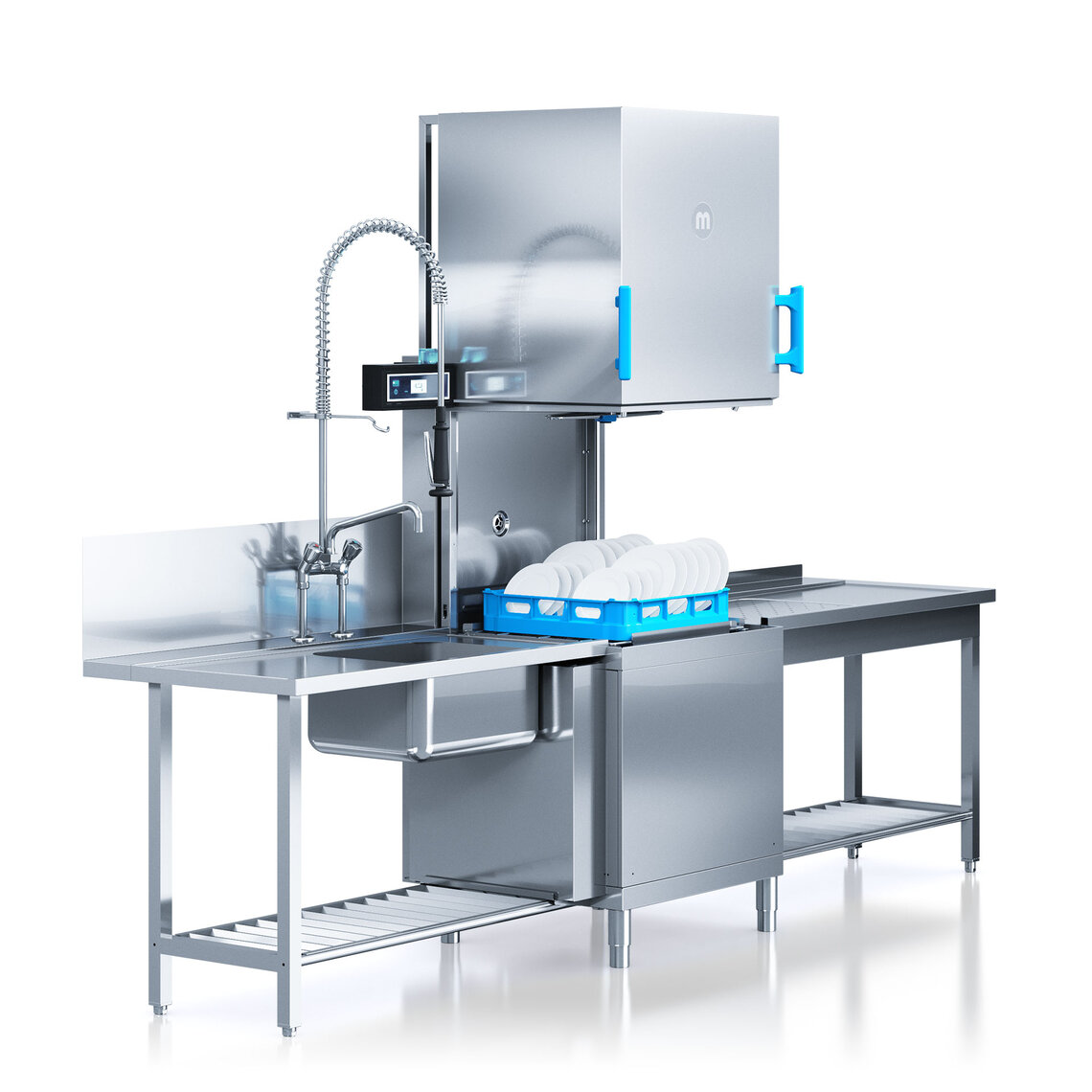 Industrial Kitchen Dishwasher: Commercial Kitchen Dishwasher